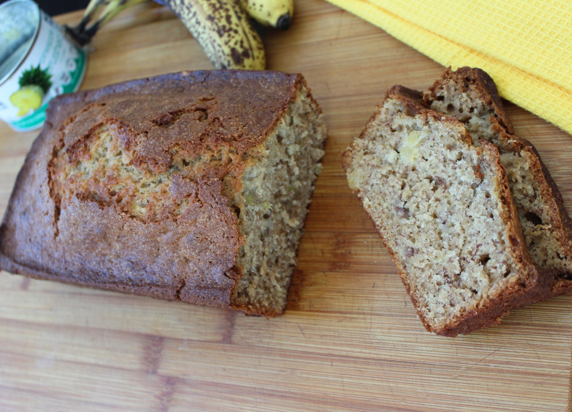 Banana-Pineapple Bread
