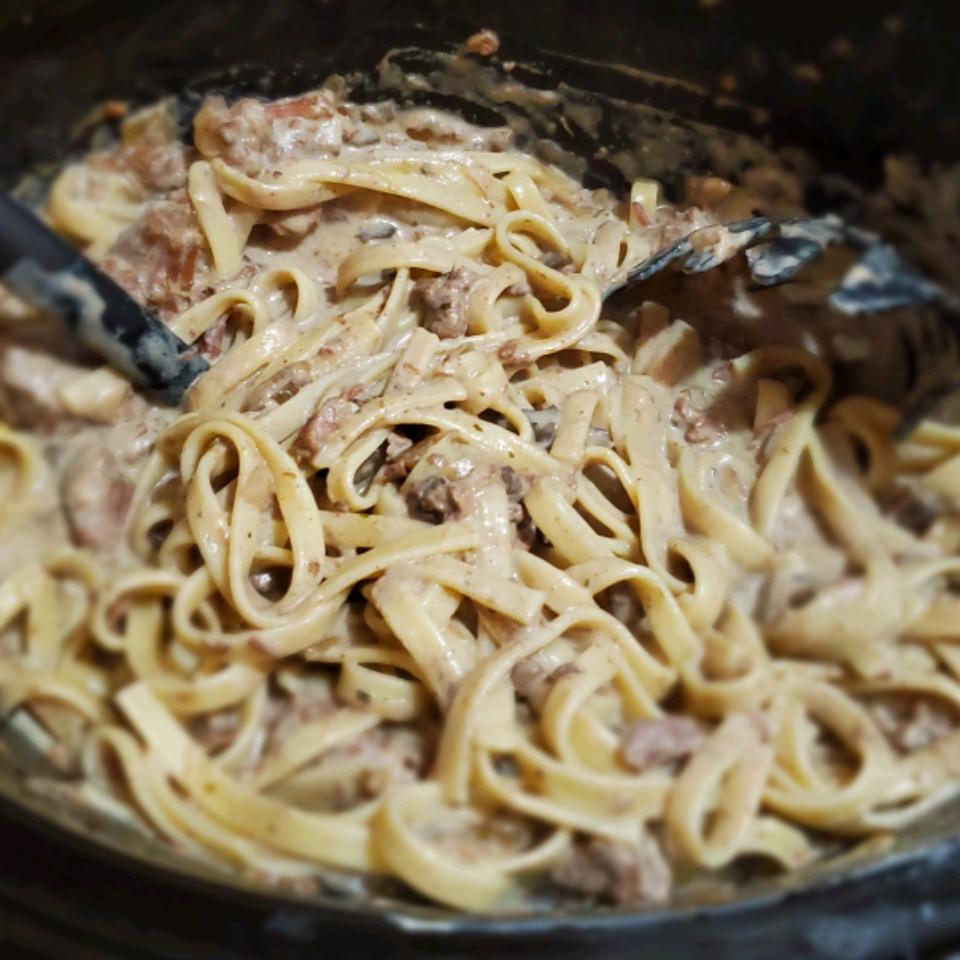 PHILLY Slow-Cooker Beef Stroganoff Jeannie Houser