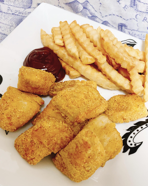 Air-Fried Fish Nuggets
