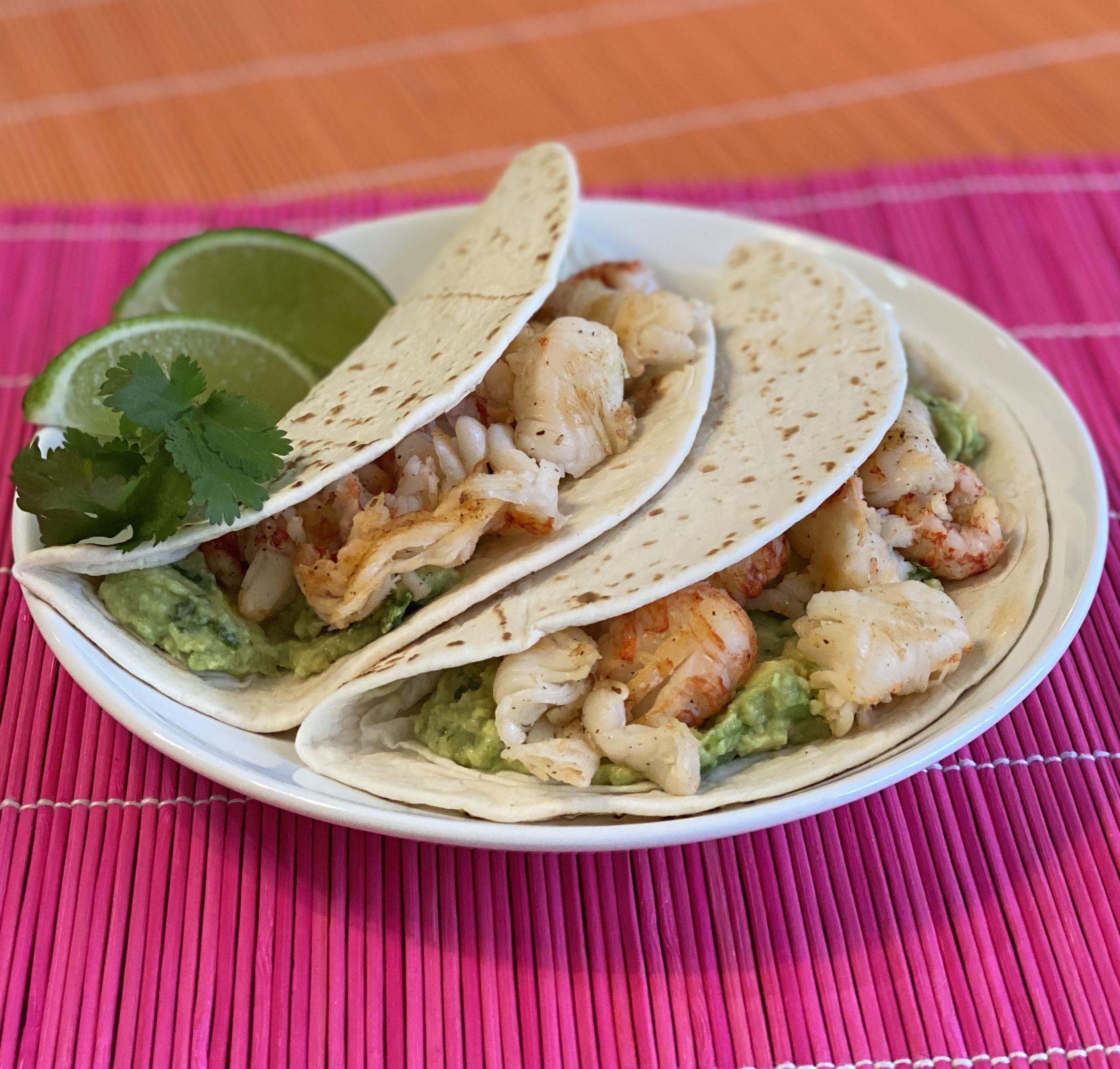 Baja Lobster Tacos