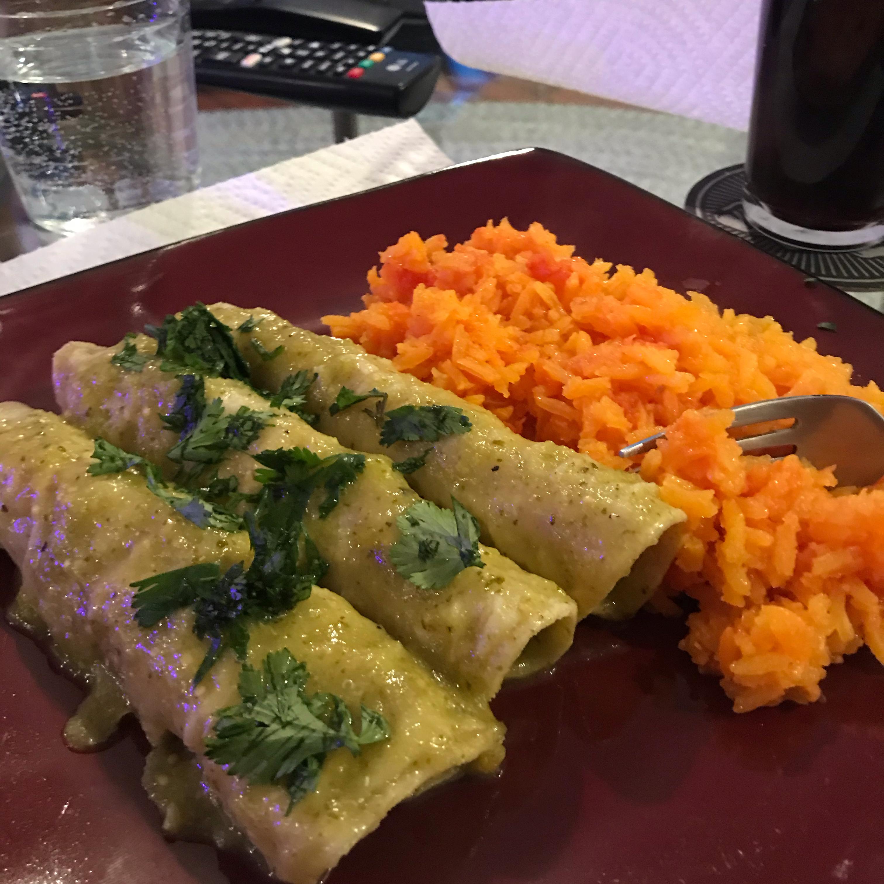 Enchiladas Verdes Jeremy Chavez