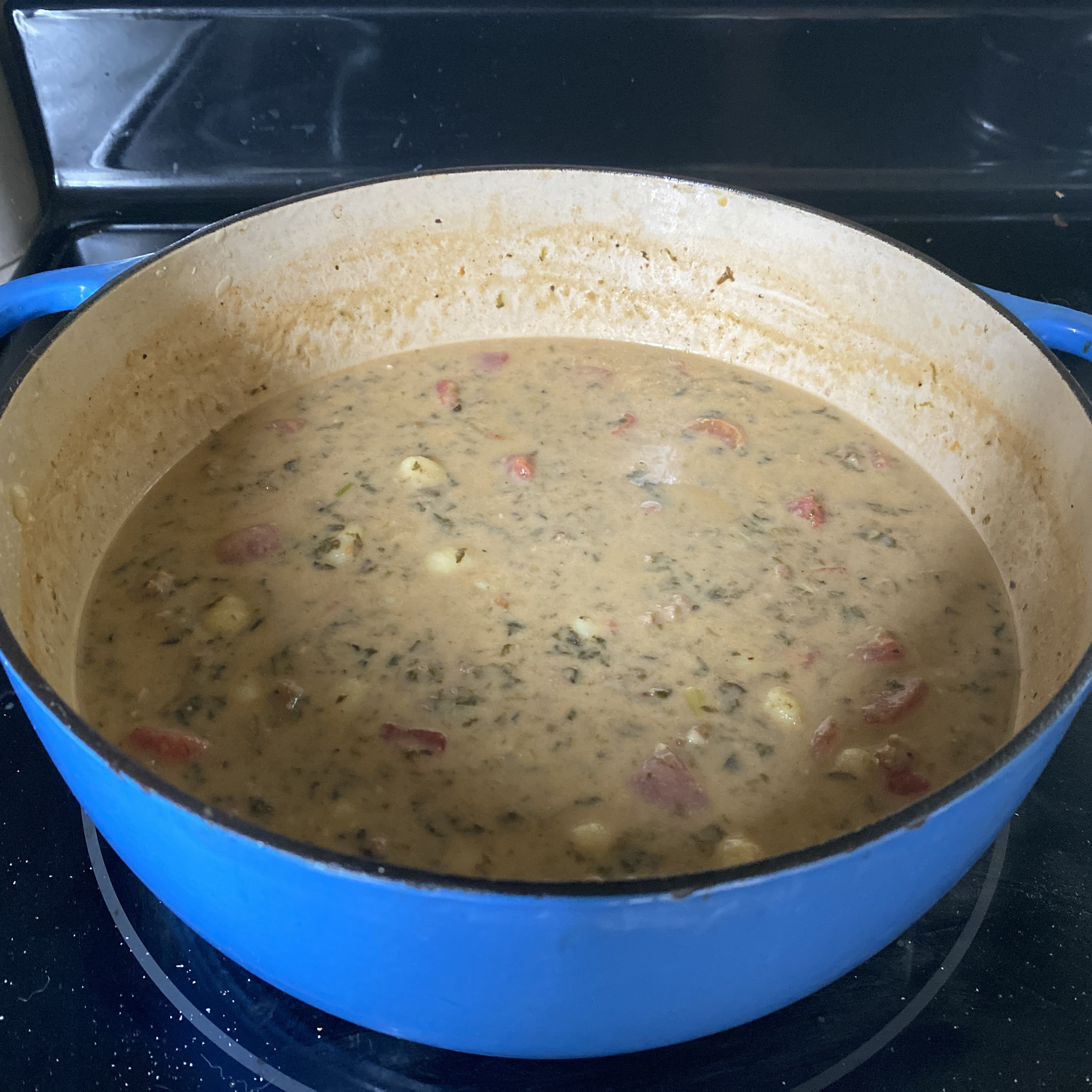 Italian Sausage and Gnocchi Soup