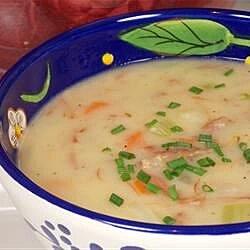 healthier delicious ham and potato soup recipe