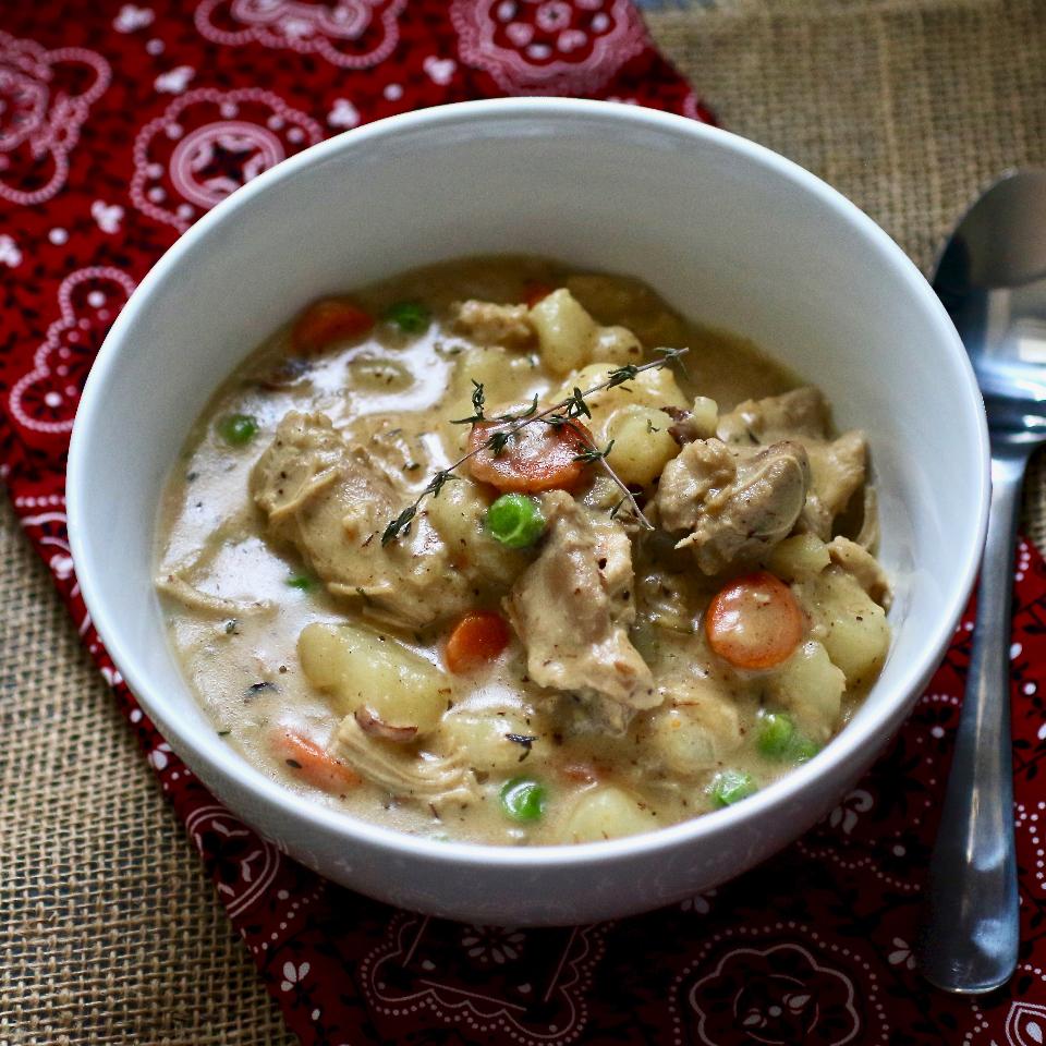 Instant Pot® Creamy Chicken Stew