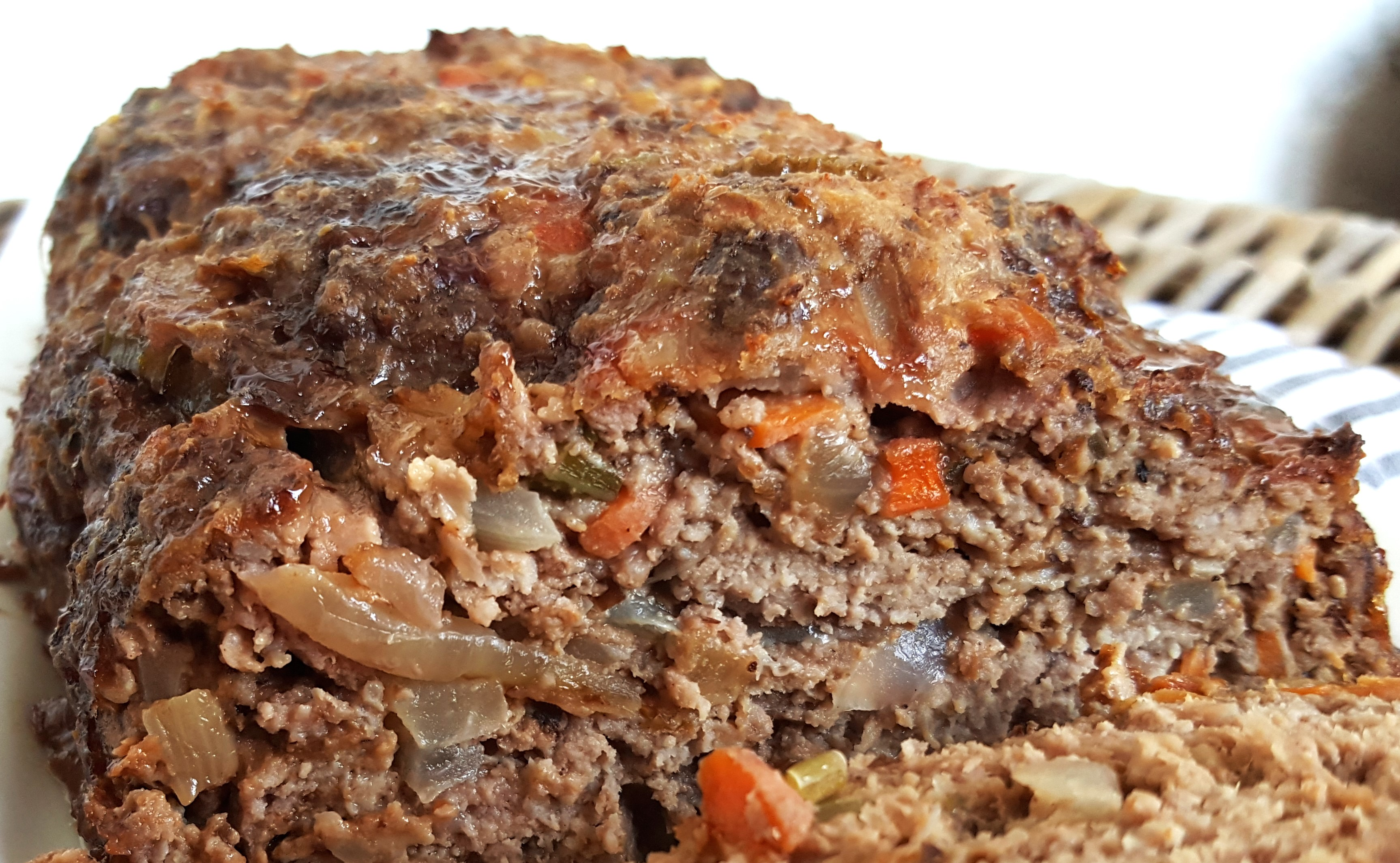 Papa Don's Southern Meatloaf with Crackers