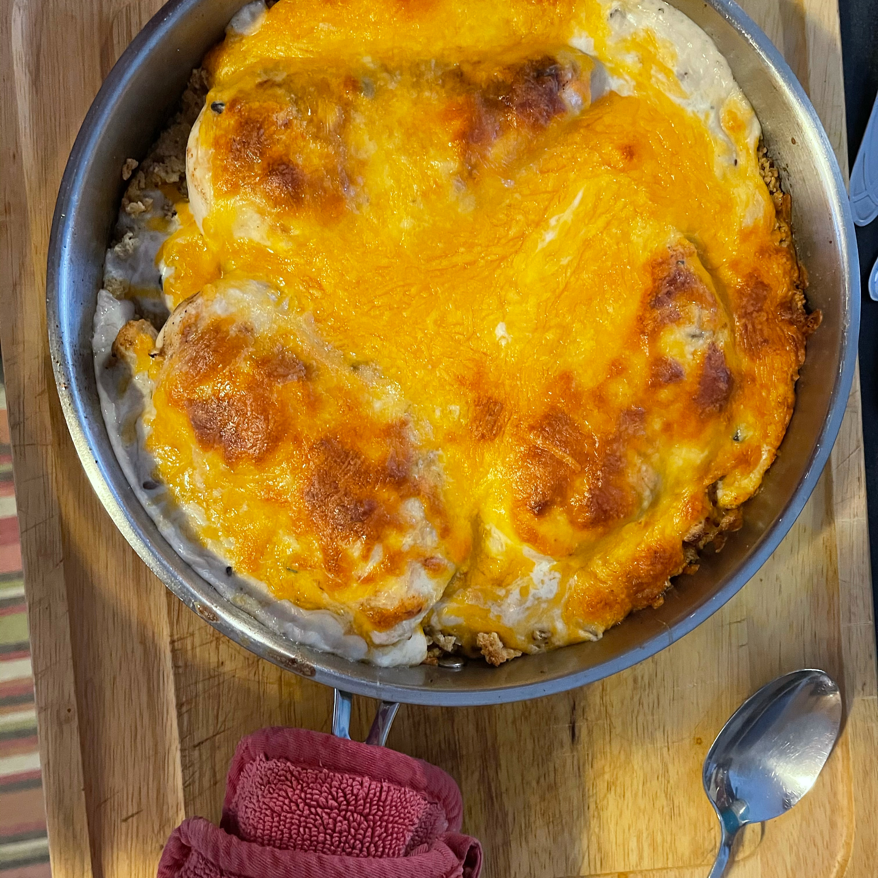 Chicken and Stuffing Skillet Catherine Belmont-Rowe