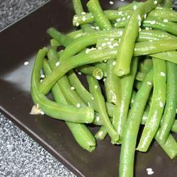Sesame Seed Green Beans Allegra