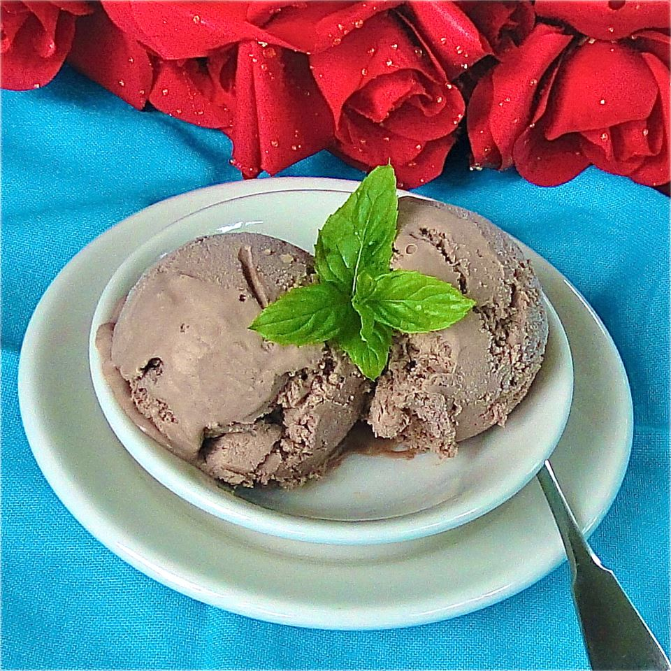 Chocolate Syrup Ice Cream