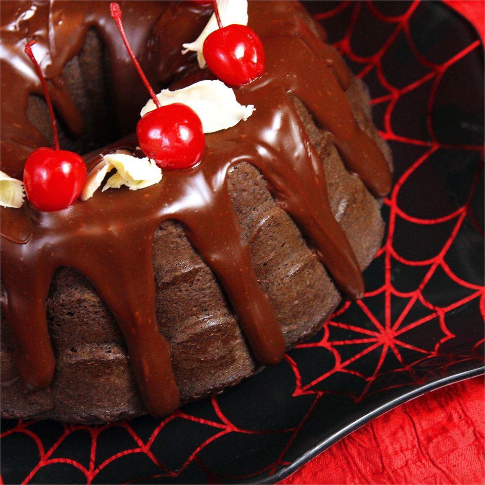 Chocolate Pudding Fudge Cake sweetserenade