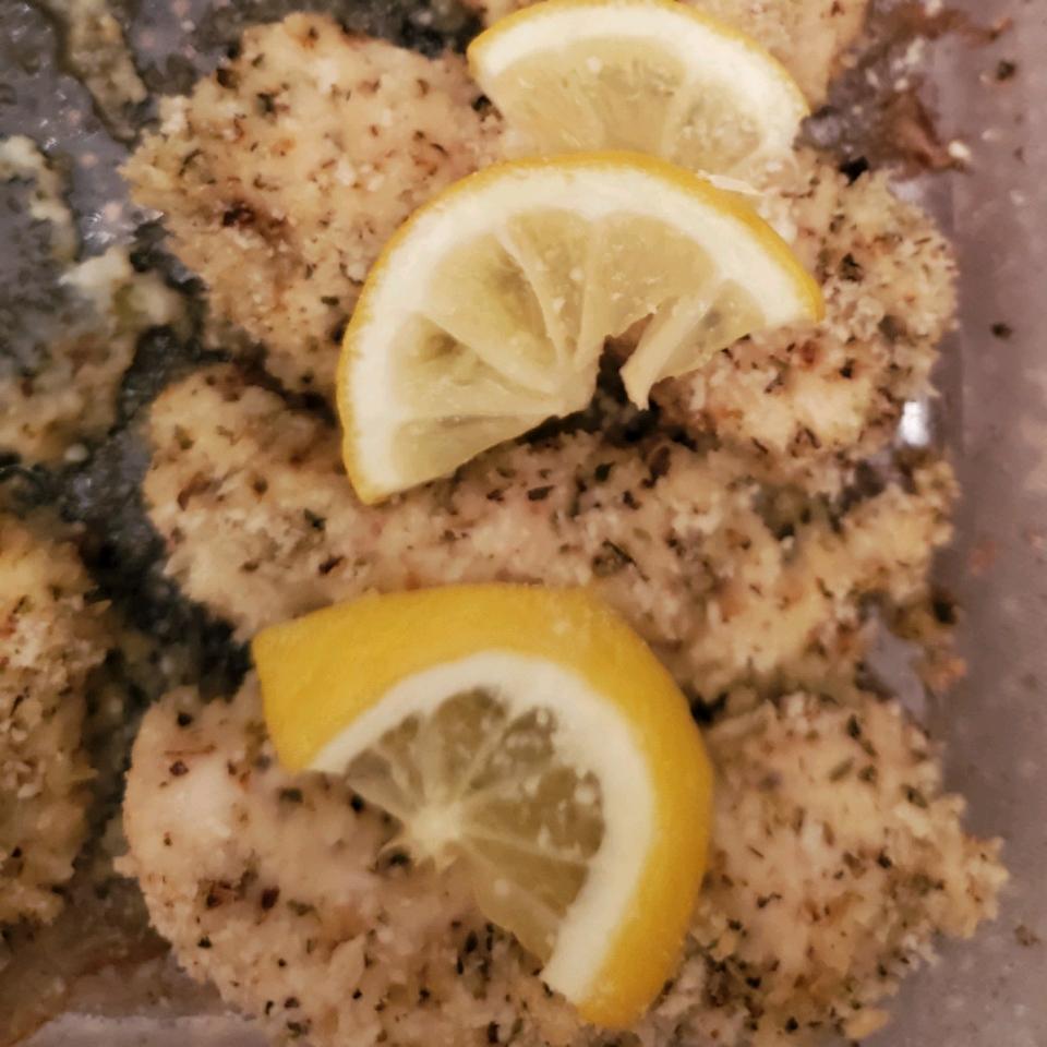 Baked Italian Lemon Chicken