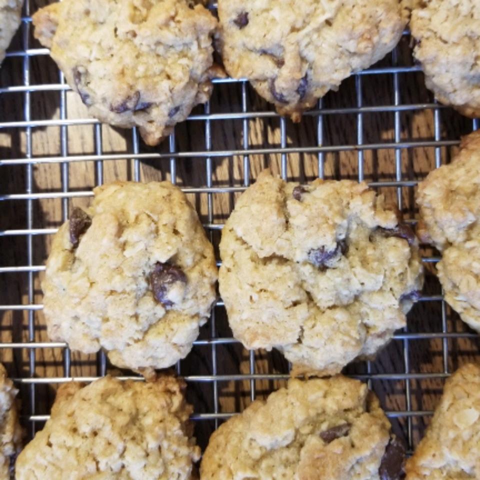 Coconut Oatmeal Cookies II