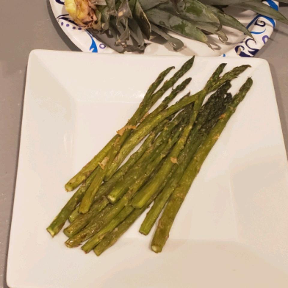 Parmesan Asparagus Mikemoon