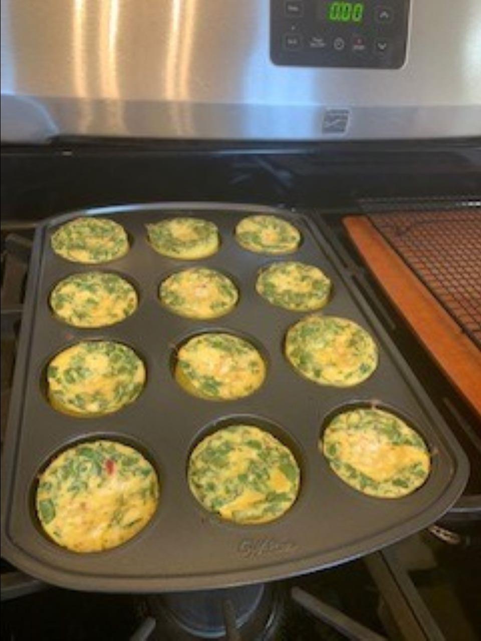 Egg White Breakfast Bites