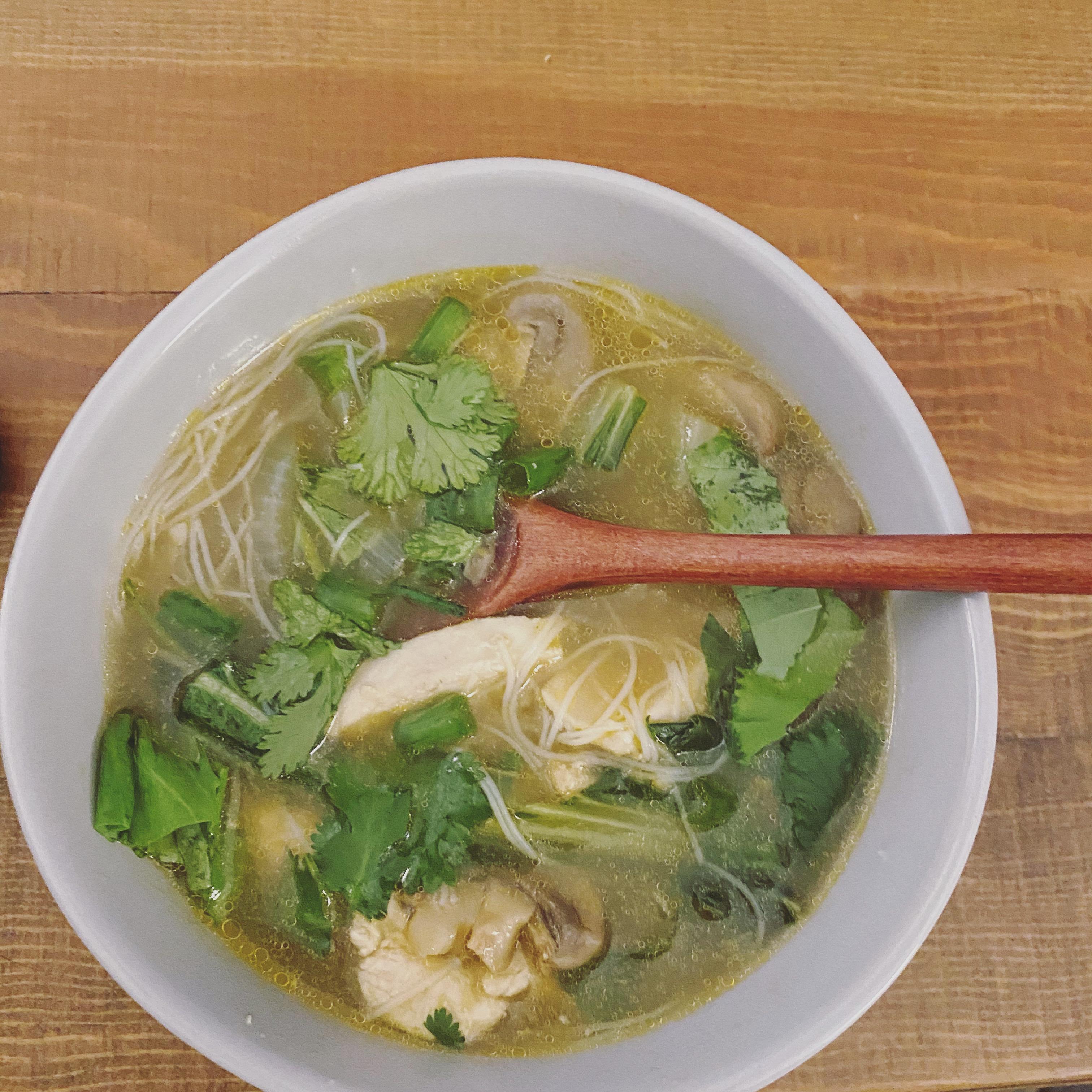 Pho Ga Soup Brons Grocery List