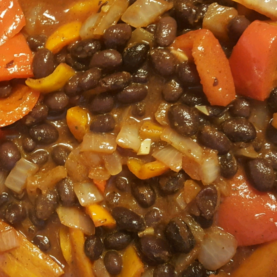 Vegetarian Chili with Black Beans Bunny Lady