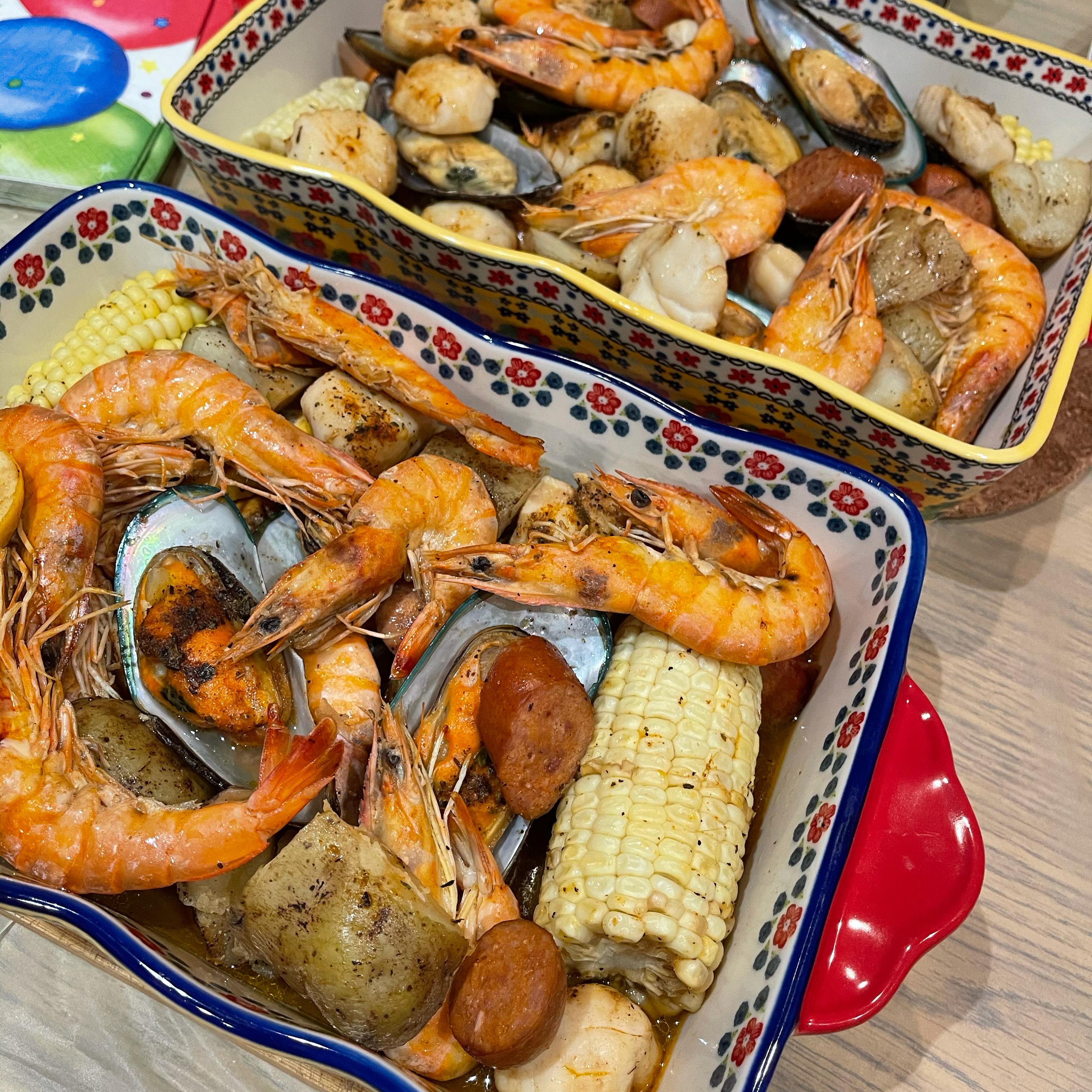 Grilled Cajun Seafood Boil Cynthia Garcia