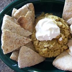 Curried Hummus mommymeggy