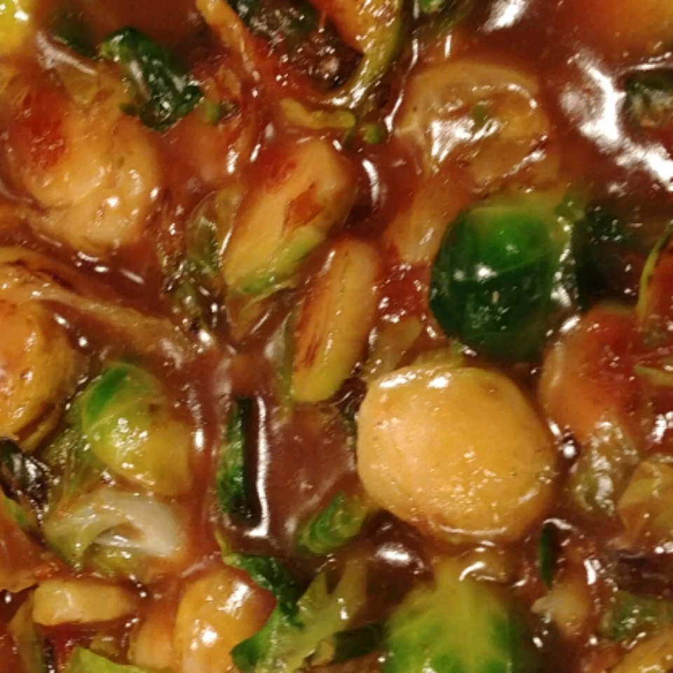 Asian Brussels Sprouts Lori Arends