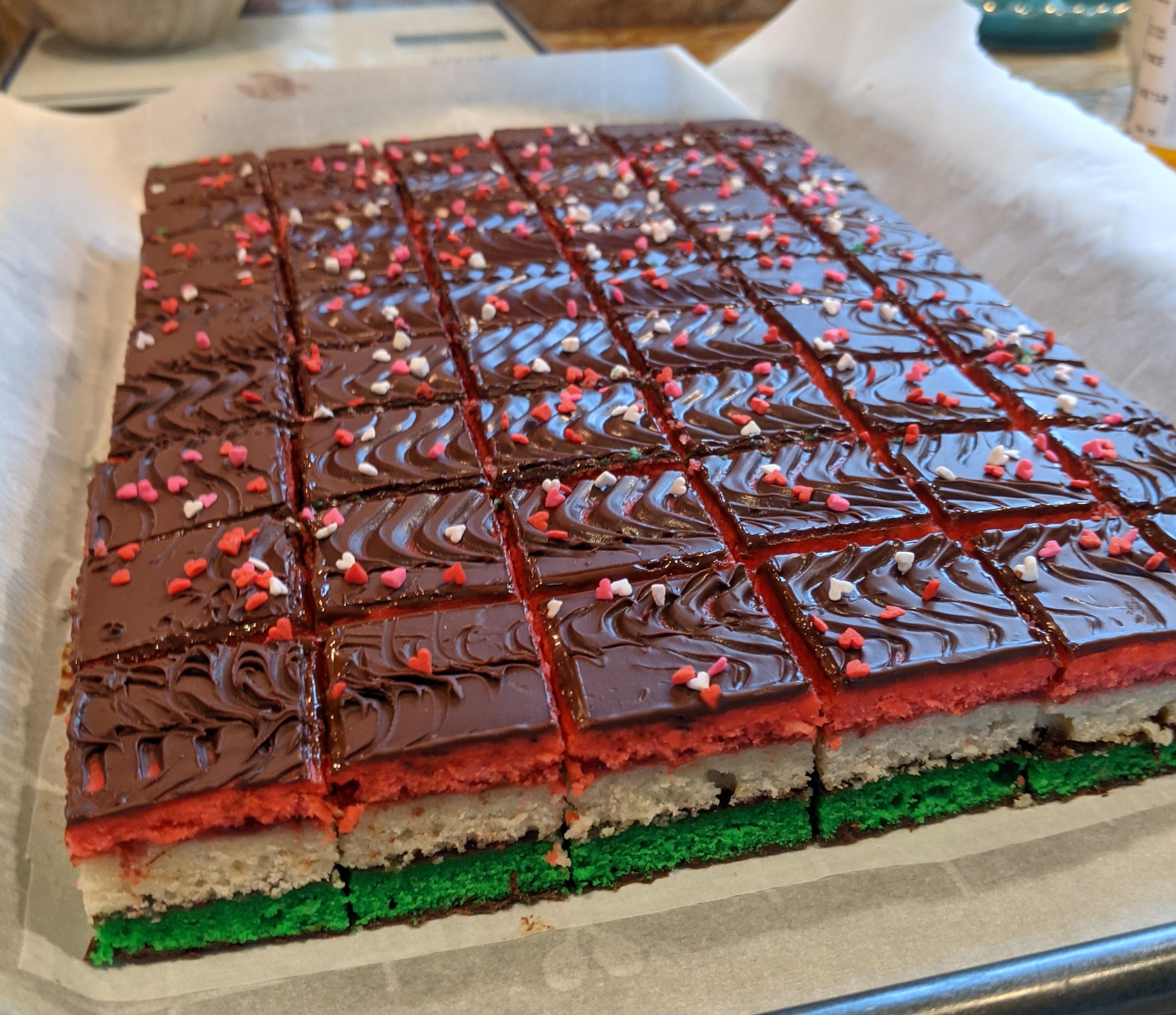 Rainbow Cookies MPappa