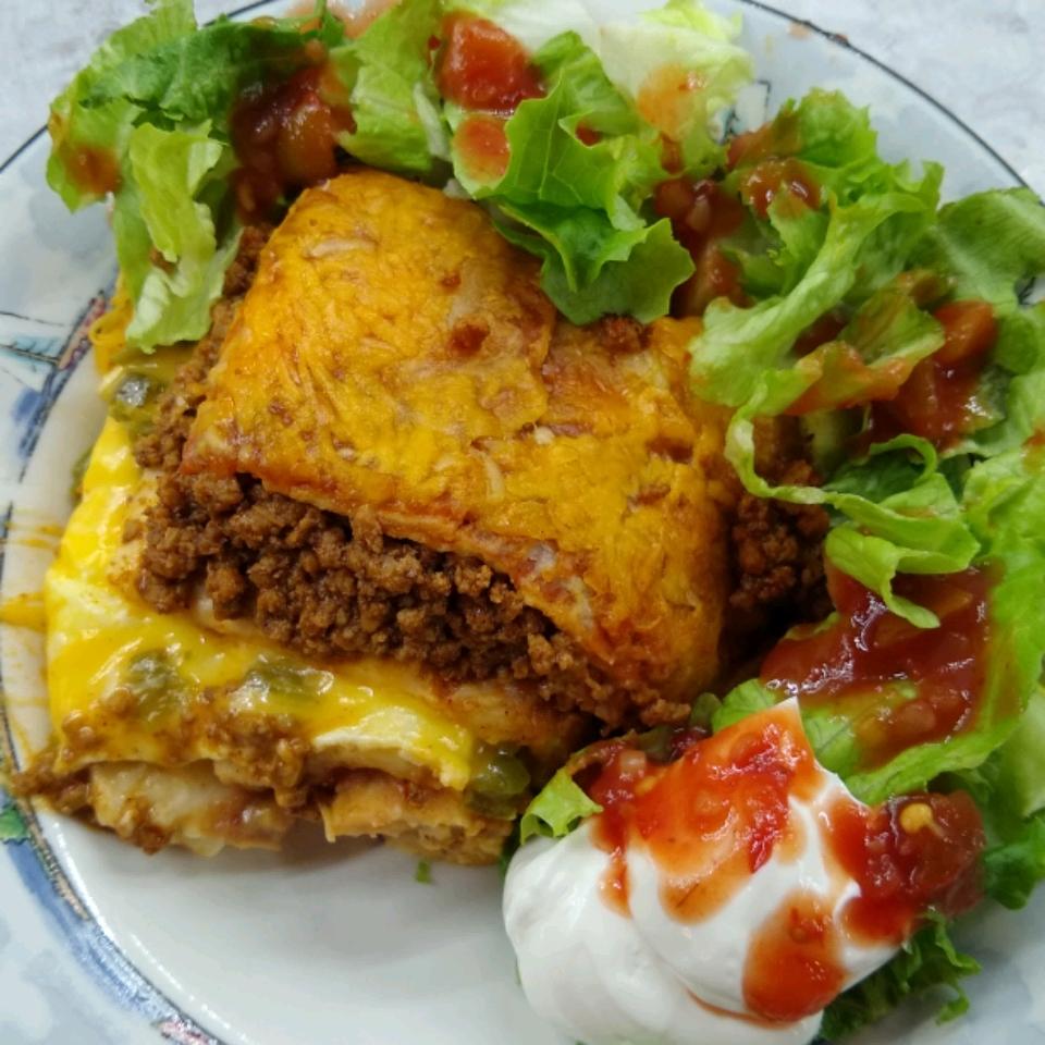 Mexican Lasagna with Cactus bstocksd@sbcglobal.net