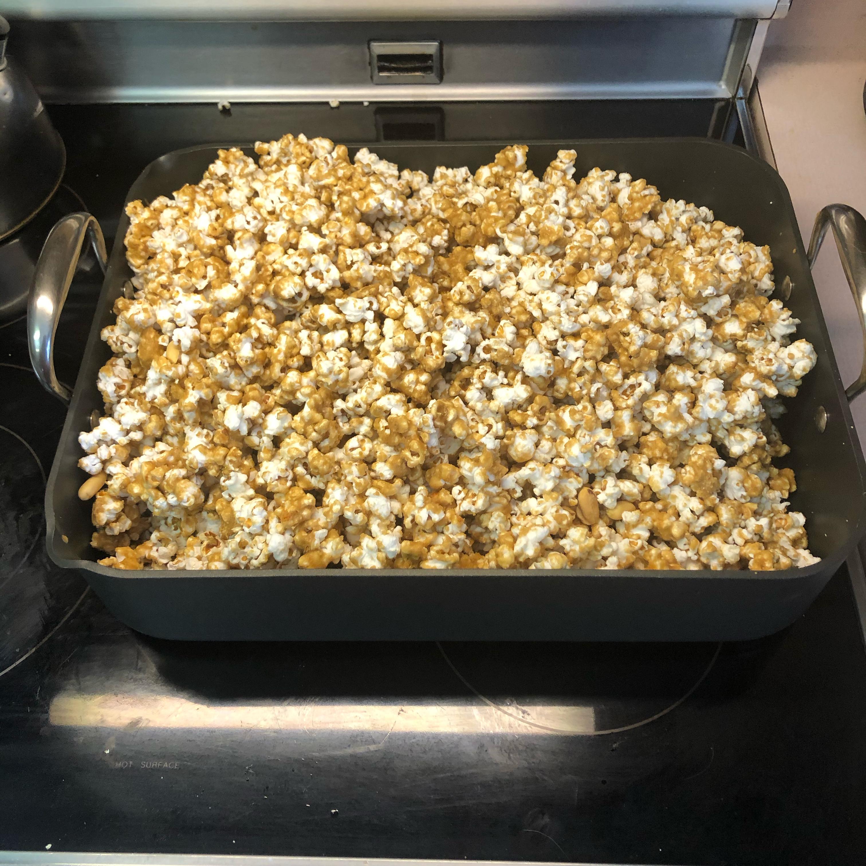 Crunchy Baked Caramel Corn Jennifer Brooks Rush