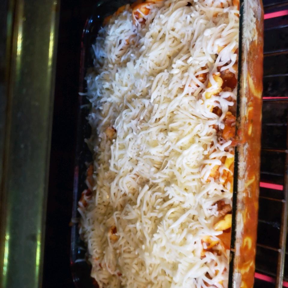 Italian Sausage Tortellini Bake