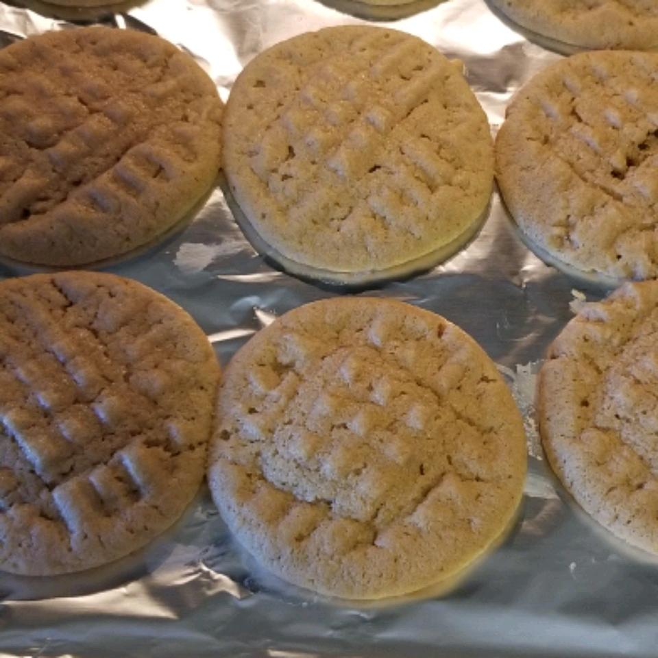 Quick Peanut Butter Cookies