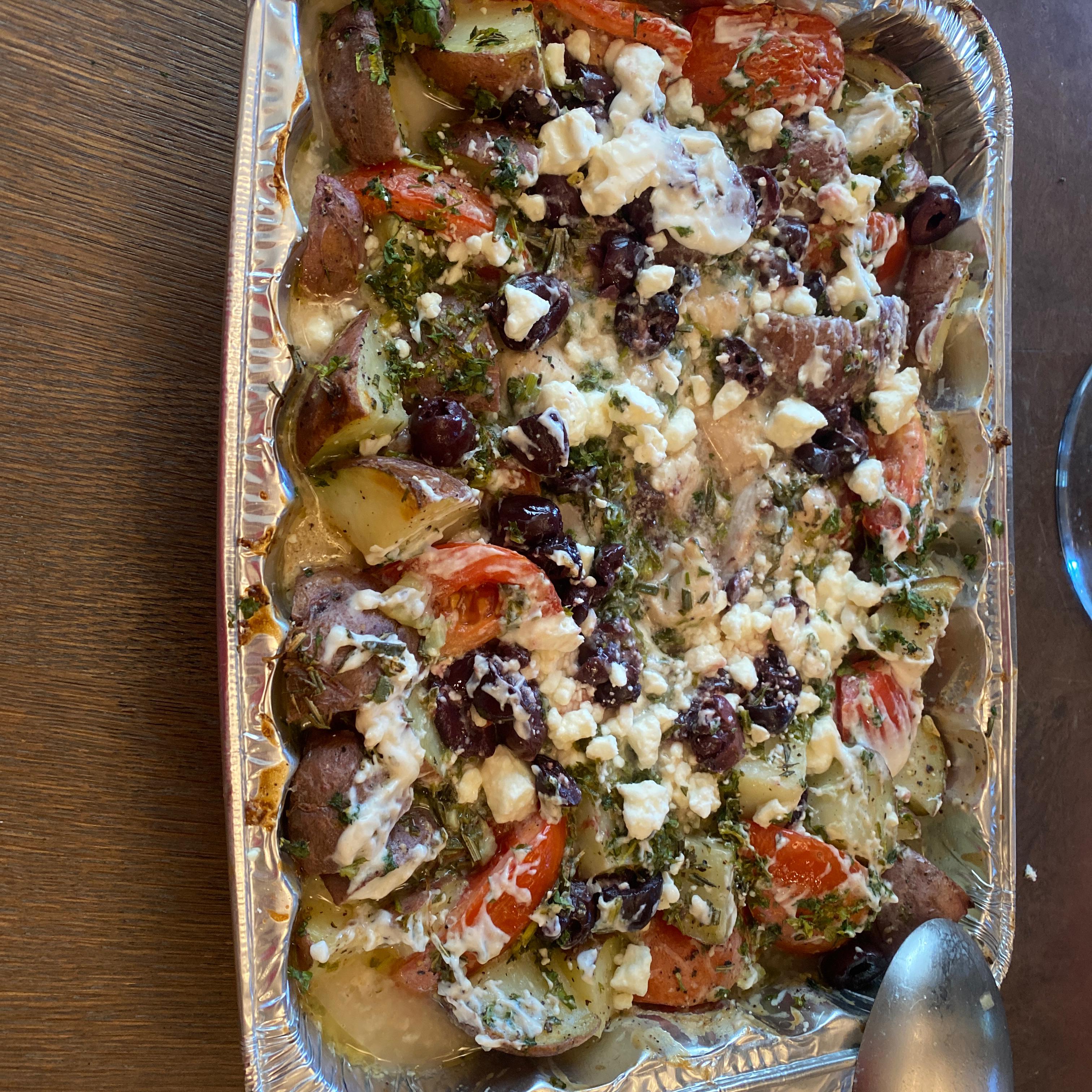 Roasted Mediterranean Chicken Laurie Hurwitz