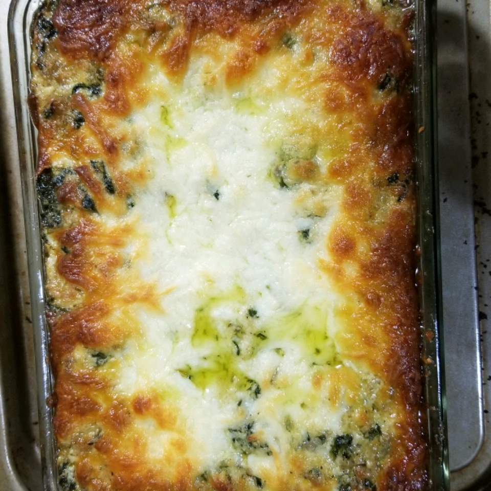 Hot Artichoke and Spinach Dip II MsBootheel