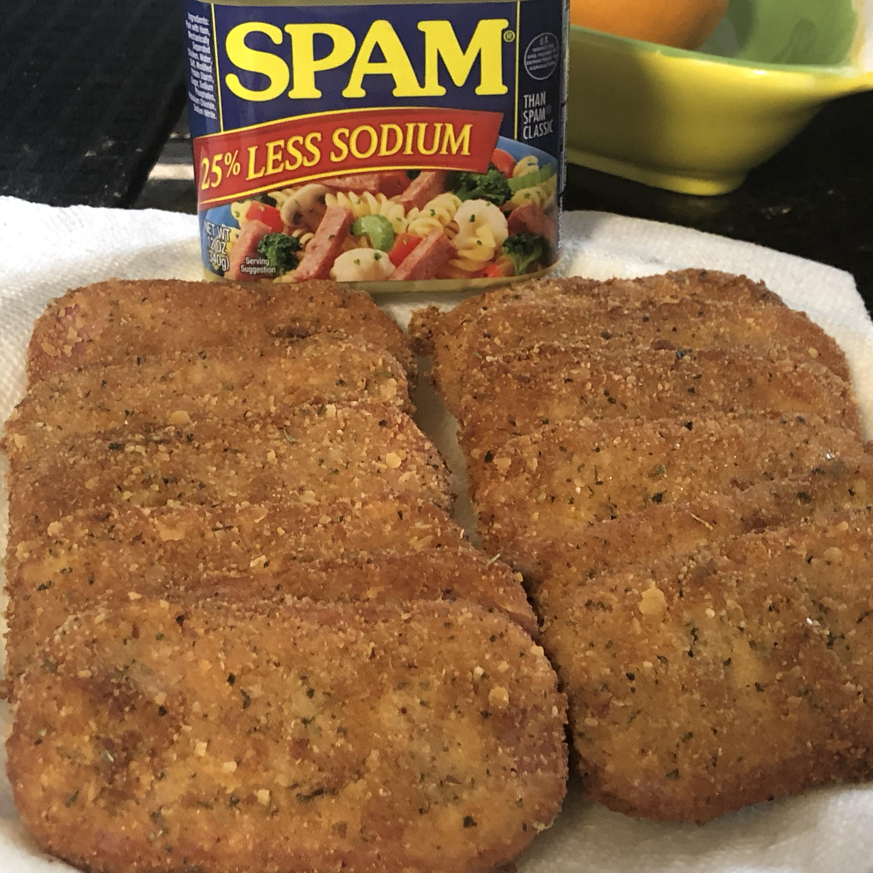 Breaded SPAM® Steaks bell