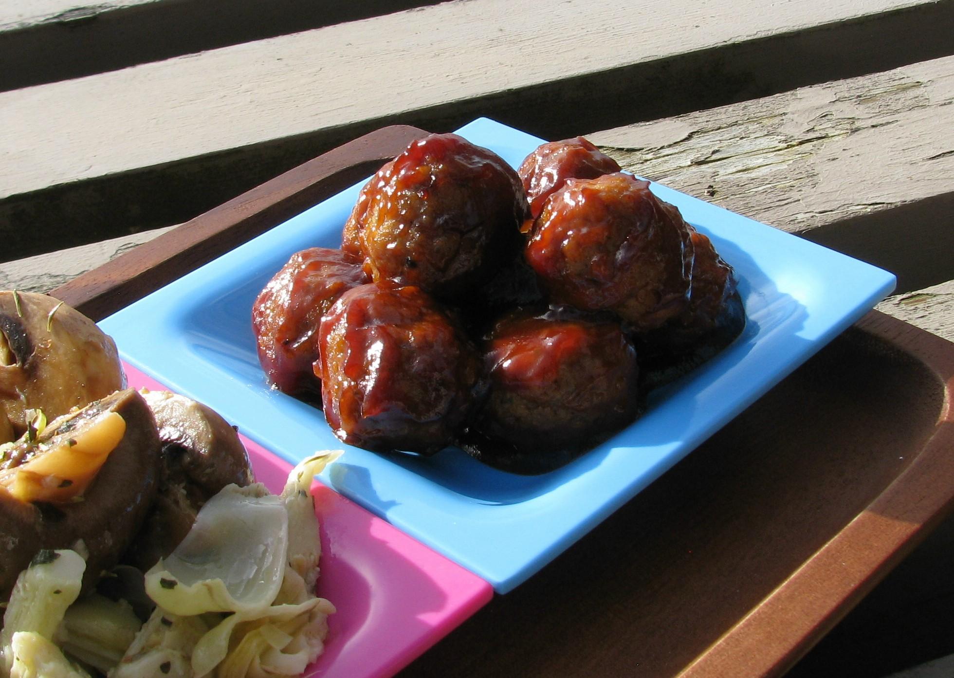 BBQ Meatballs lazyme
