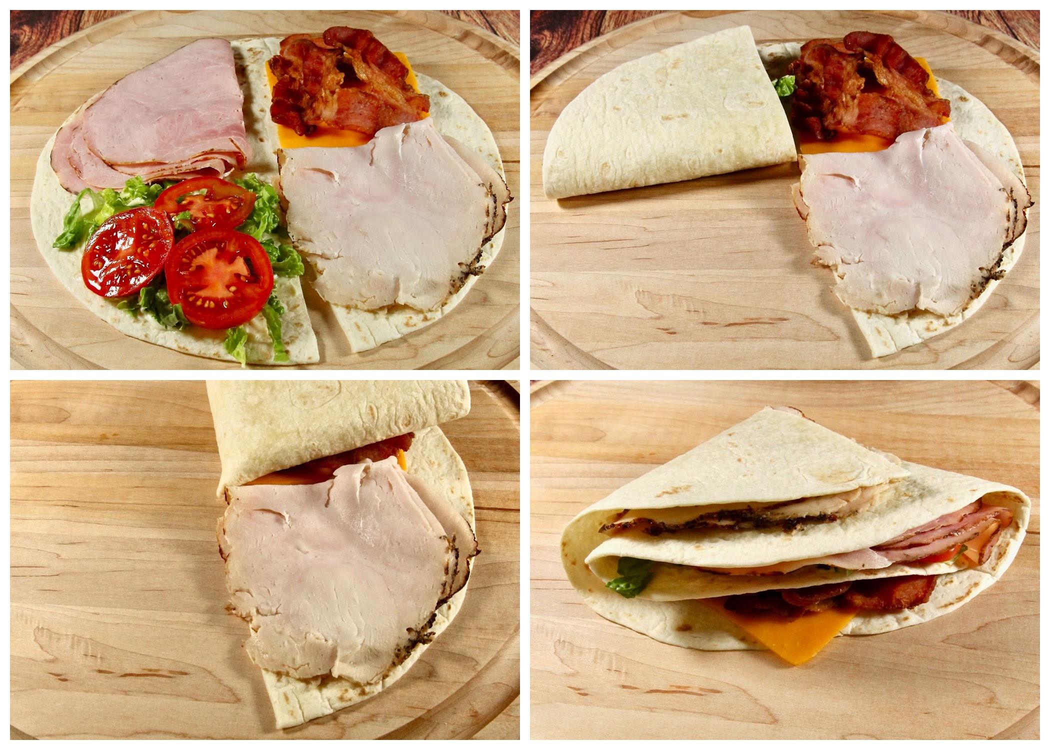 Club Sandwich Wrap Hack lutzflcat