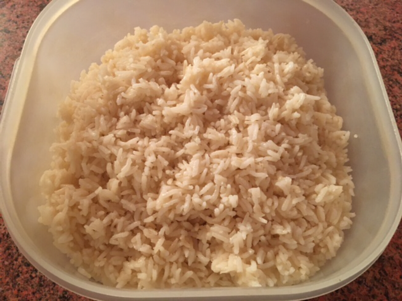 Puerto Rican Steamed Rice
