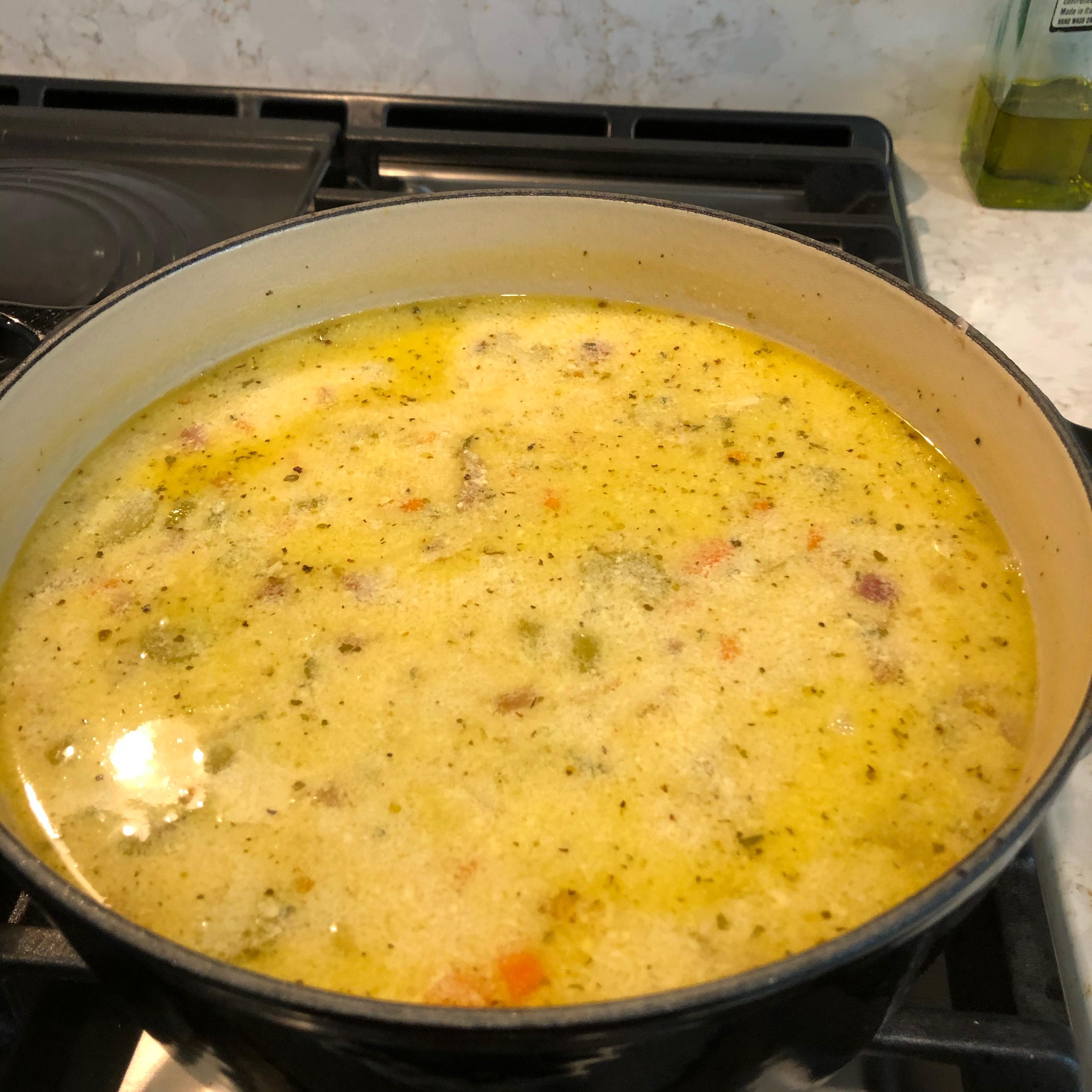 Greek Lemon and Chicken Soup (Avgolemono)