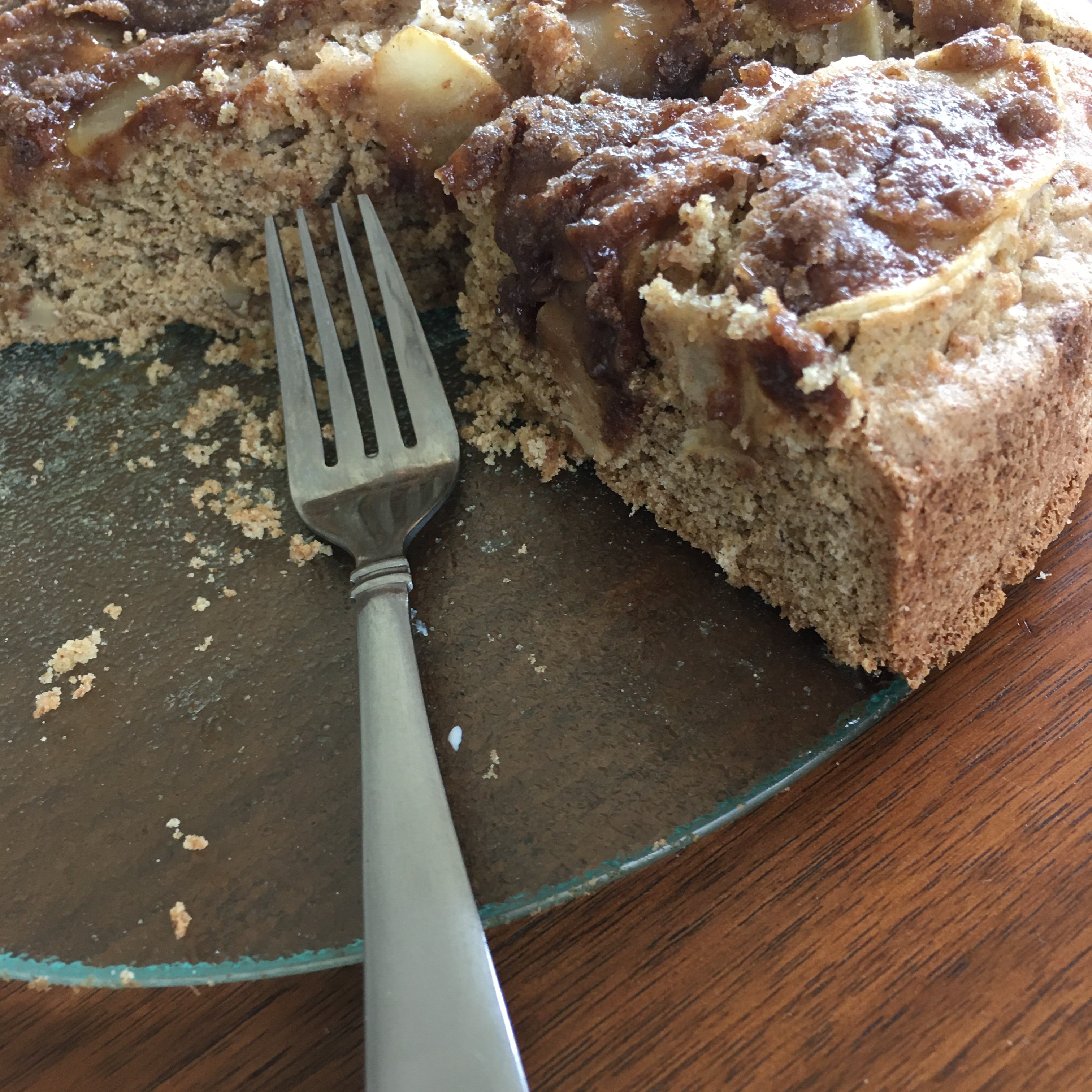 Spiced Apple Coffee Cake