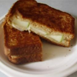 Grilled Apple and Swiss Cheese Sandwich Sarah Jo