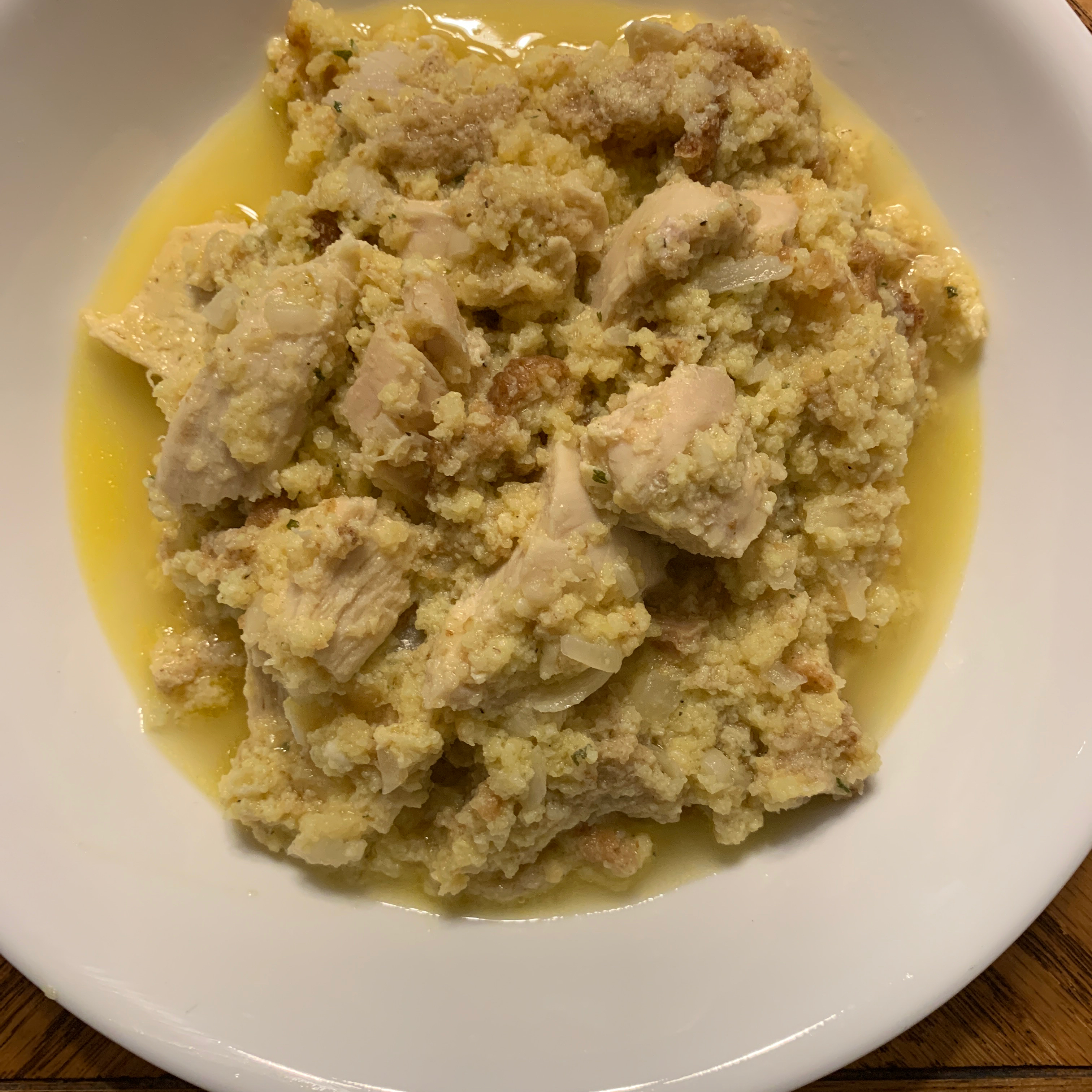 Slow Cooker Chicken Dressing