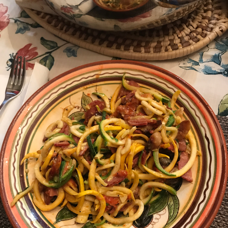 Spaghetti Carbonara (Paleo Style)