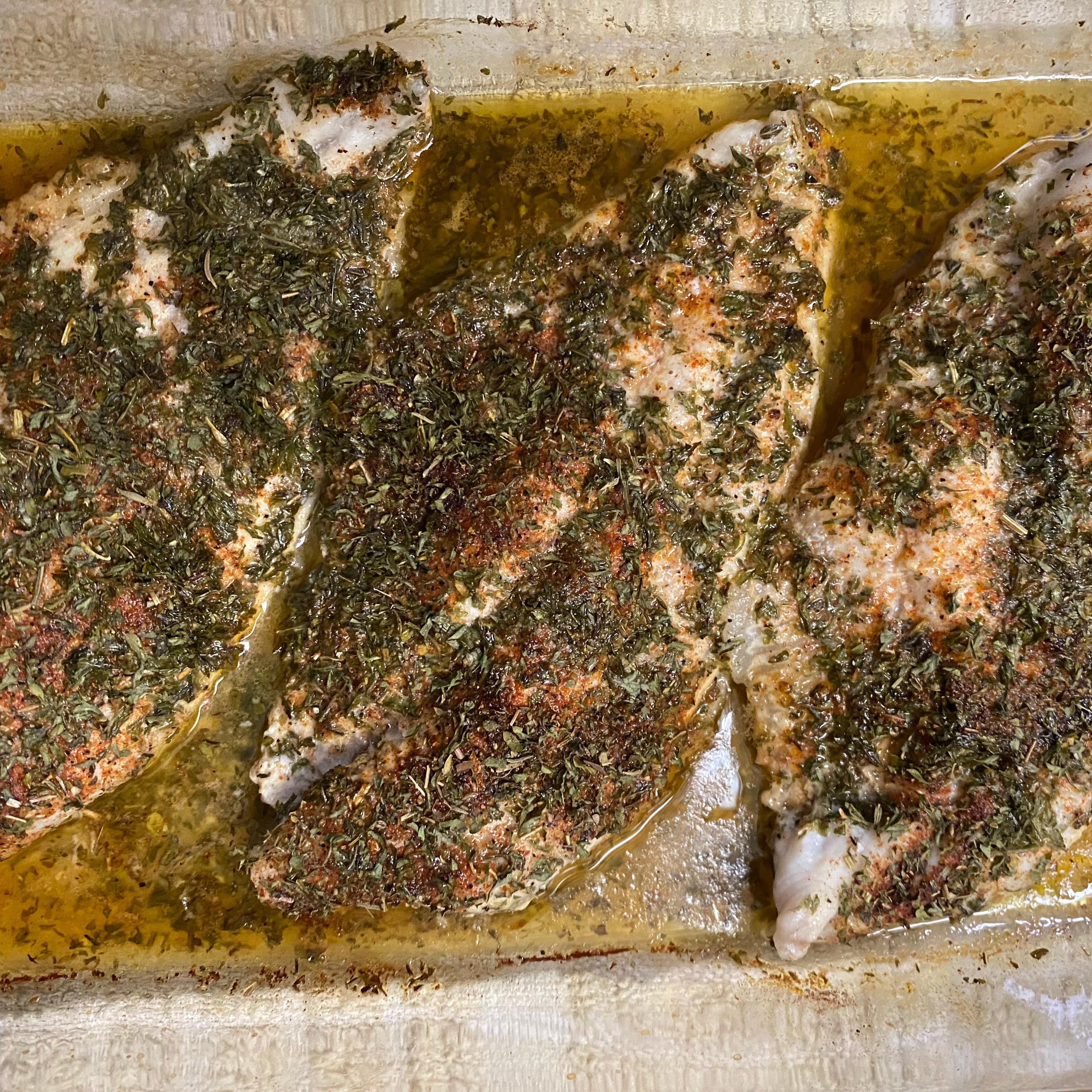 Herb Baked Catfish
