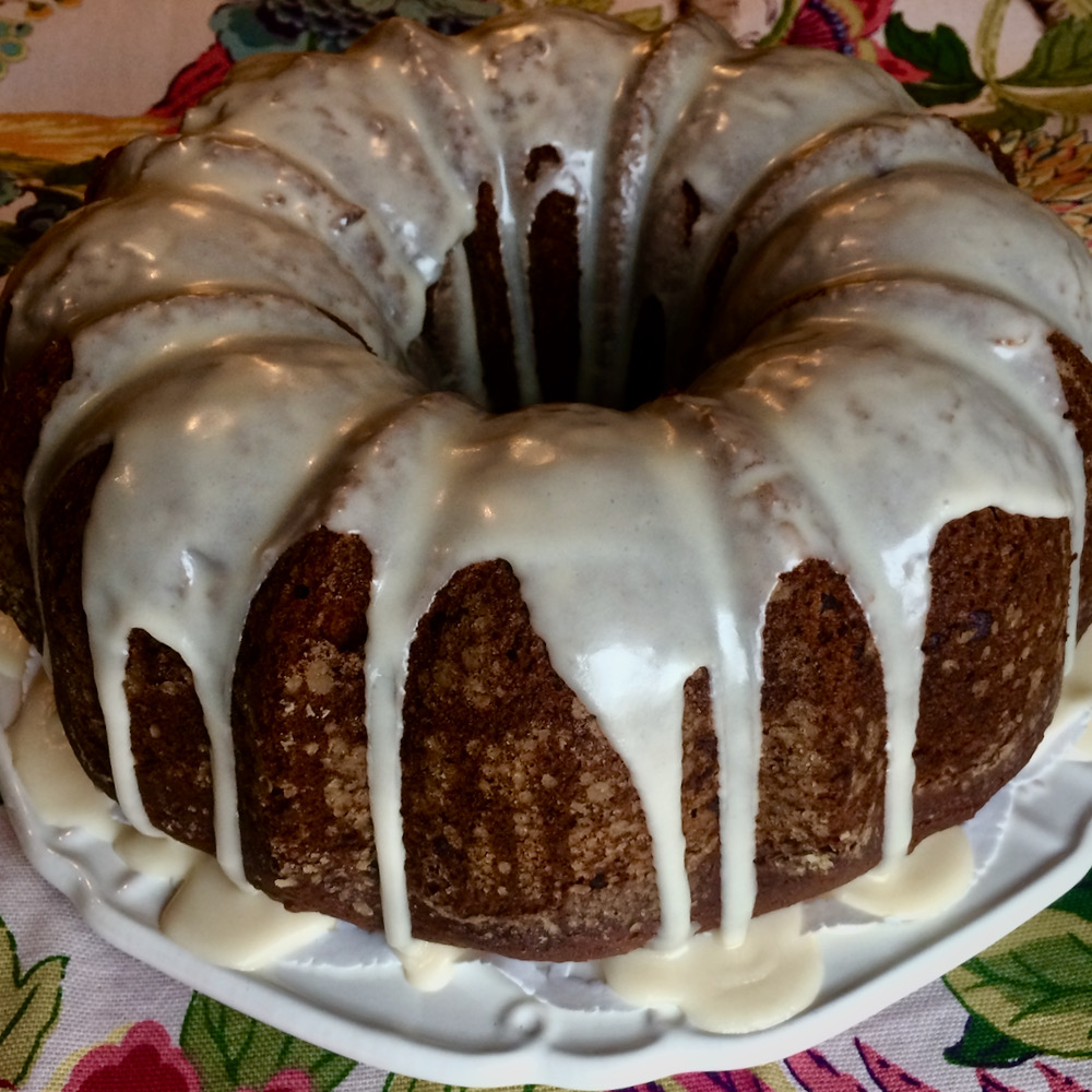 OMG Pumpkin-Chocolate Chip Bundt® Cake