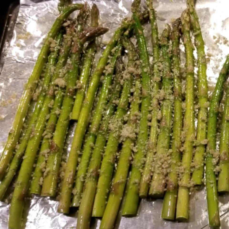 Oven-Roasted Asparagus Josephine
