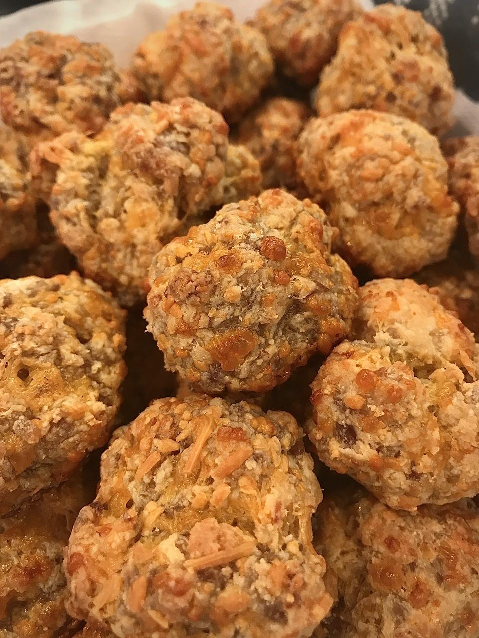 Cream Cheese Sausage Balls