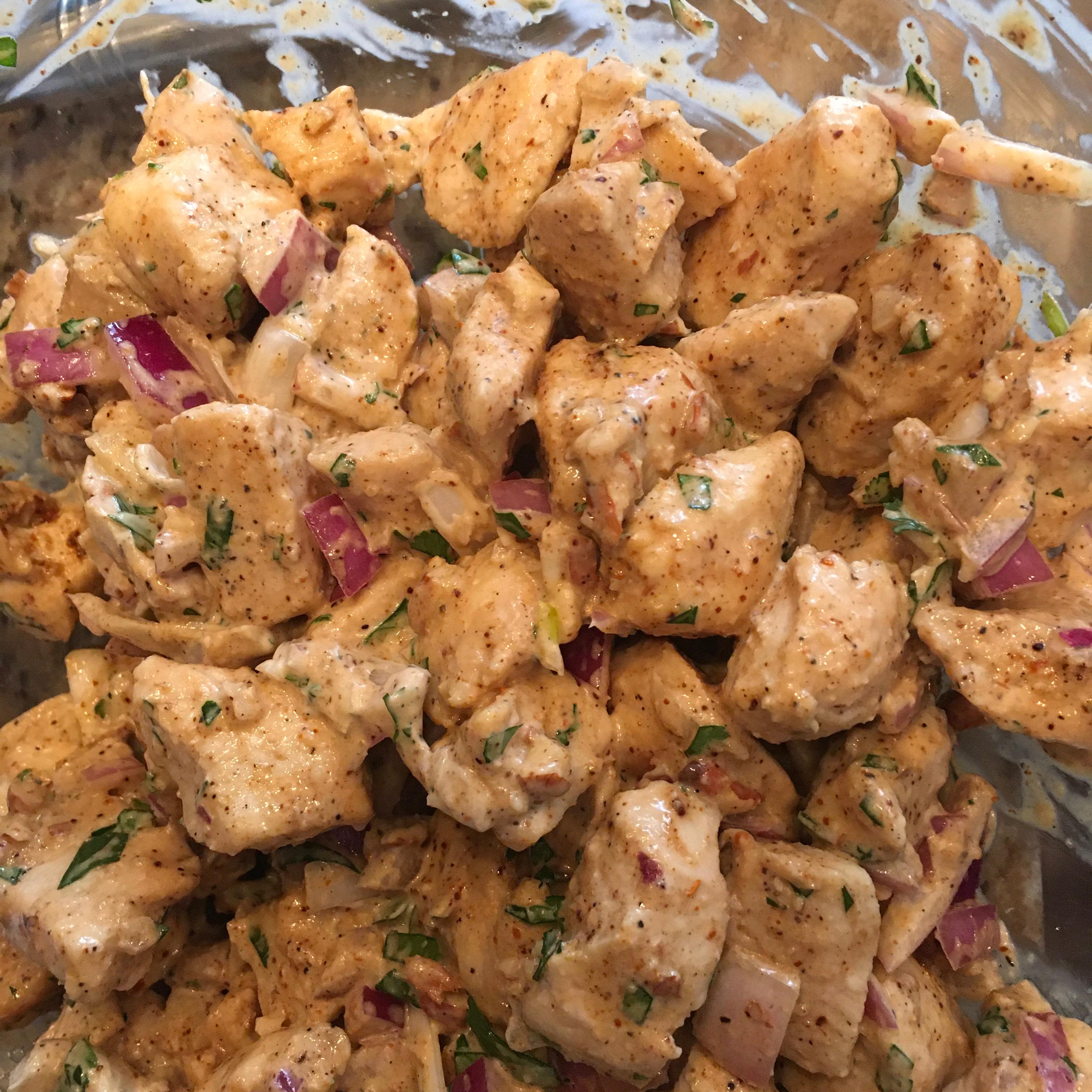 Delicious Cilantro Chicken Salad Janice