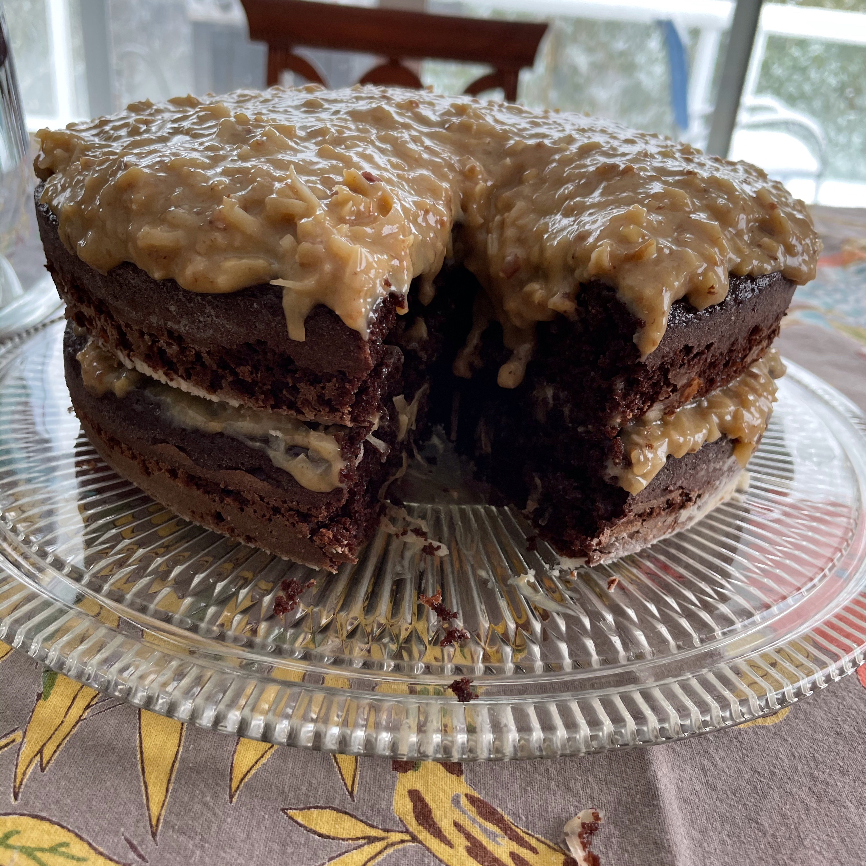 German Chocolate Cake Frosting Frank-D