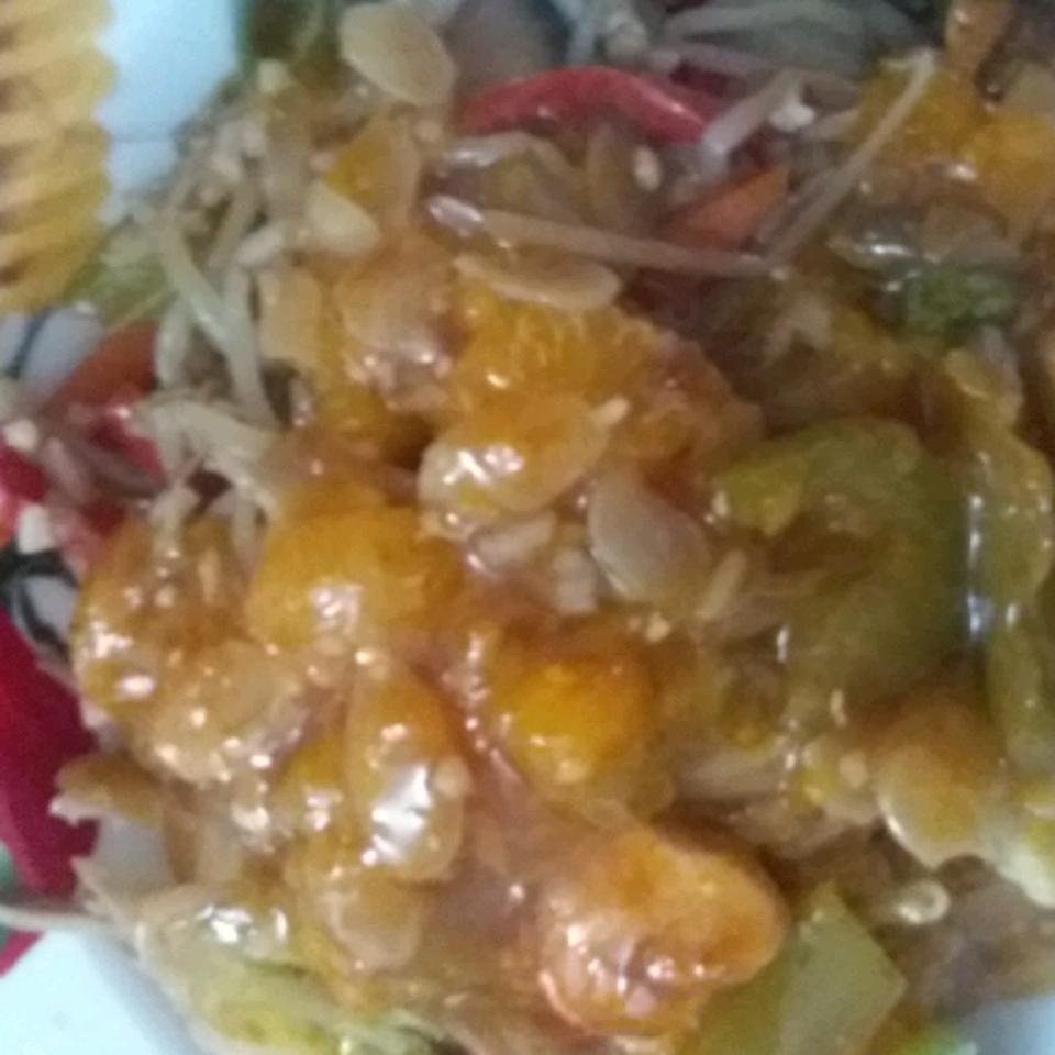 Mandarin Chicken Saute Cindy Graziotto