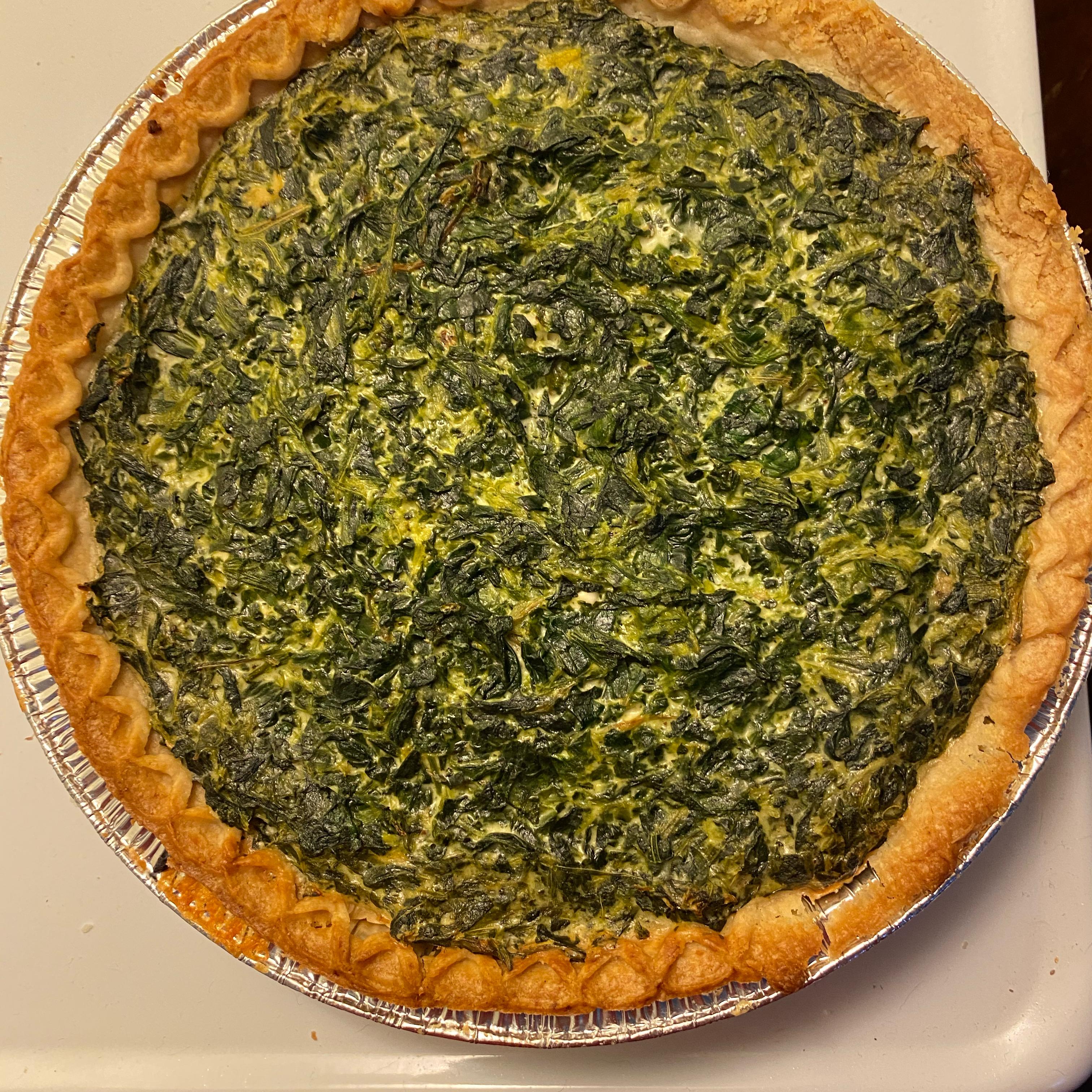 Suzanne's Spinach Quiche weez4567