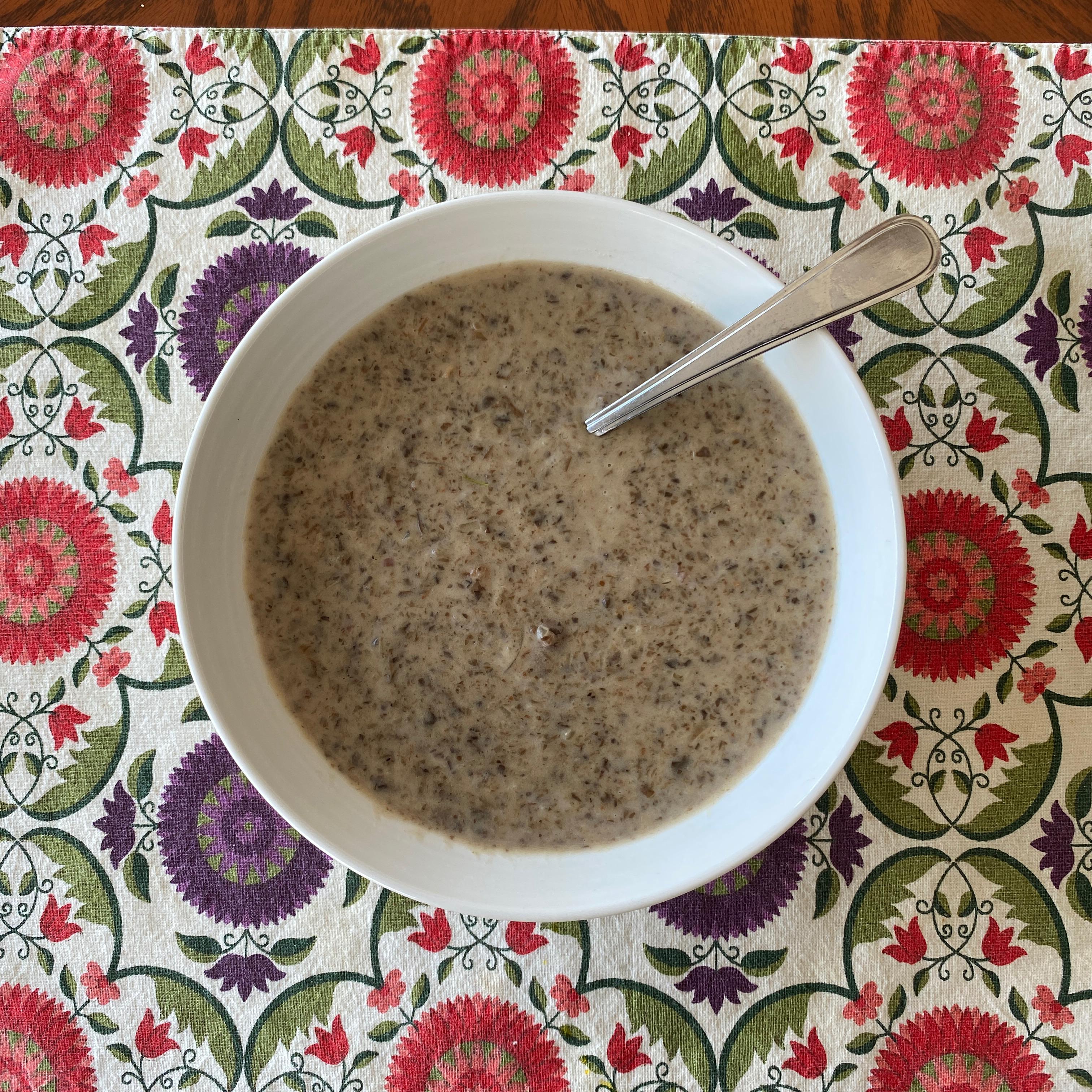 Cream of Mushroom Soup I regcracknell