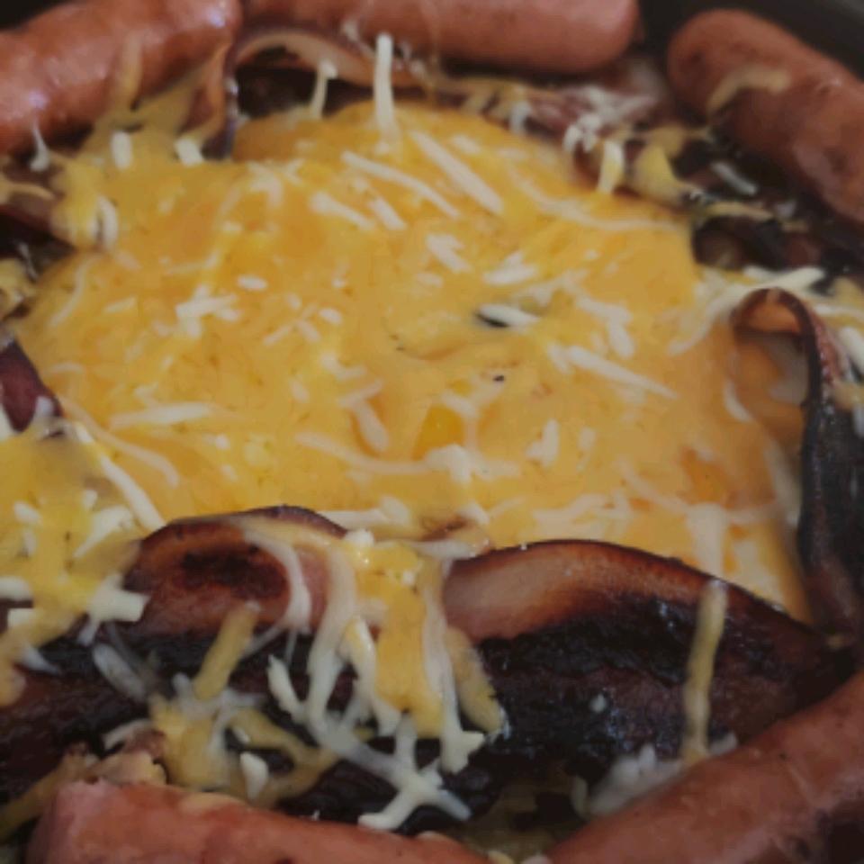 Egg and Hash Brown Pie Luke Brincat