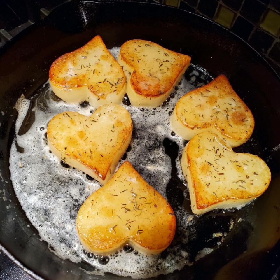 Fondant Potatoes Garth