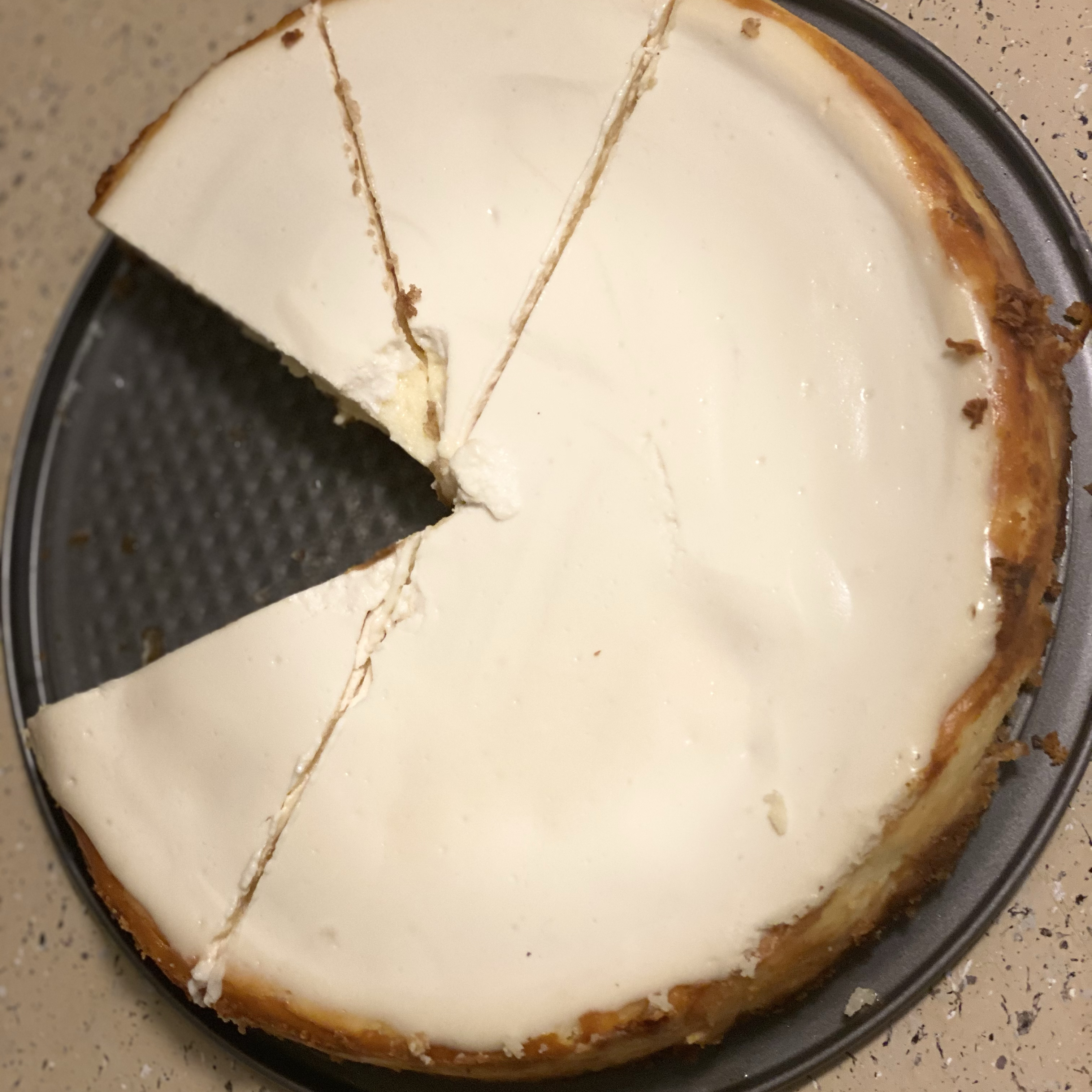Waldorf's Sour Cream Cheesecake